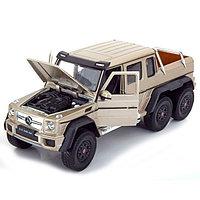 Модель машины 1:24 Mercedes-Benz G63 AMG 6x6