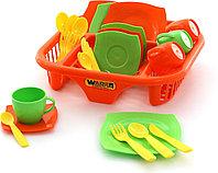 Набор детской посуды с сушилкой Алиса