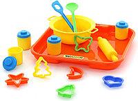 Набор детской посуды для выпечки с подносом