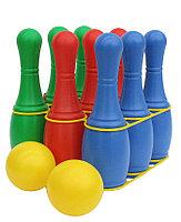 Детский боулинг набор 9 кегель, 2 шара