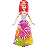 """Кукла """"Барби"""" - Радужная принцесса с волшебными волосами (свет, звук)"""