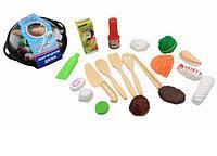 Игровой набор продуктов для вок Помогаю Маме (21 предмет)