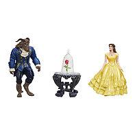 """Набор маленьких кукол """"Белль и Чудовище"""" Disney Princess"""