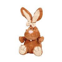 Кролик коричневый сидячий, 23 cм