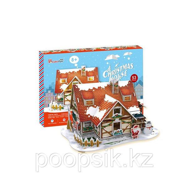 Рождественский домик 1 (с подсветкой)