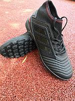 Футбольные сороконожки Adidas Predator 19.3 black