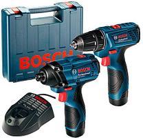 Комбинированный комплект GDR 120-LI + GSR 120-LI Professional