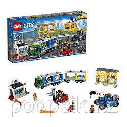 Lego City Грузовой терминал