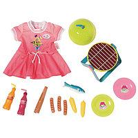 Одежда для куклы Baby born Набор для барбекю
