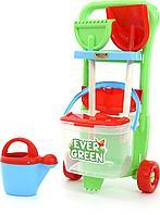 Полесье Набор №395 Ever Green тележка дачная детская