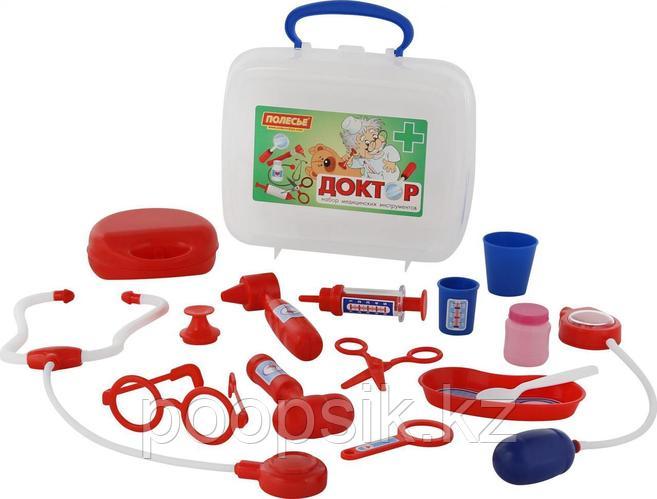 Игровой набор Доктор №3 в чемоданчике Полесье 56559