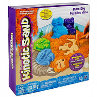 Песок для лепки Kinetic Sand. Игровой набор c формочками, 340 грамм в ассортименте