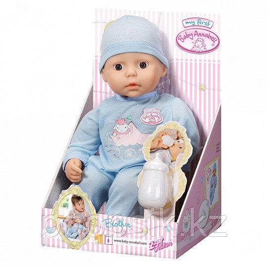 Кукла-мальчик с бутылочкой, 36 см Baby Annabell