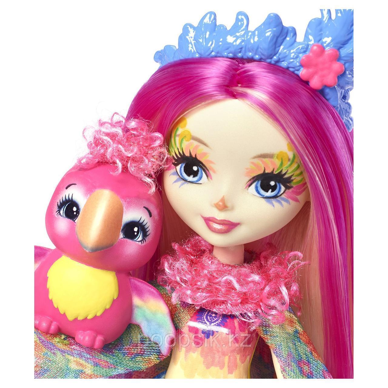 Enchantimals Пикки Какаду с питомцем 15 см, Mattel FJJ21 - фото 2