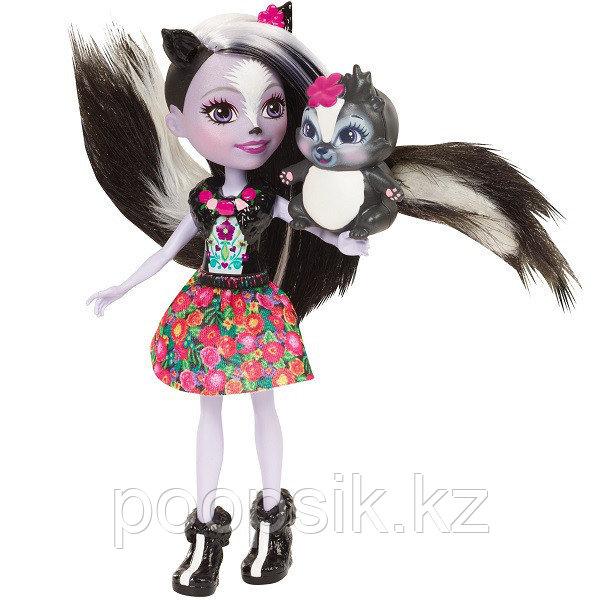 Кукла Enchantimals Седж Скунси, 15 см DVH87/FXM72 - фото 2