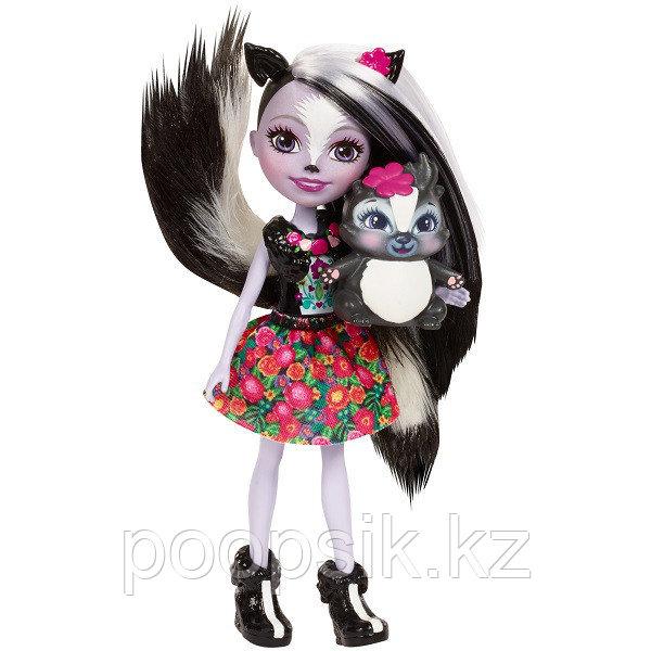 Кукла Enchantimals Седж Скунси, 15 см DVH87/FXM72 - фото 3