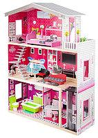 Кукольный домик с мебелью 115см EF4118