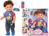 Интерактивная Кукла Братик Baby Born 43см Zapf Creation
