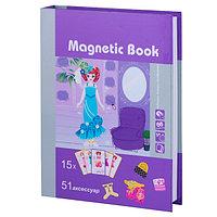"""Magnetic Book TAV026 Развивающая игра """"Кокетка"""", 65 деталей"""