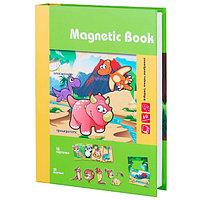 """Magnetic Book TAV031 Развивающая игра """"Живность тогда и теперь"""", 87 деталей"""