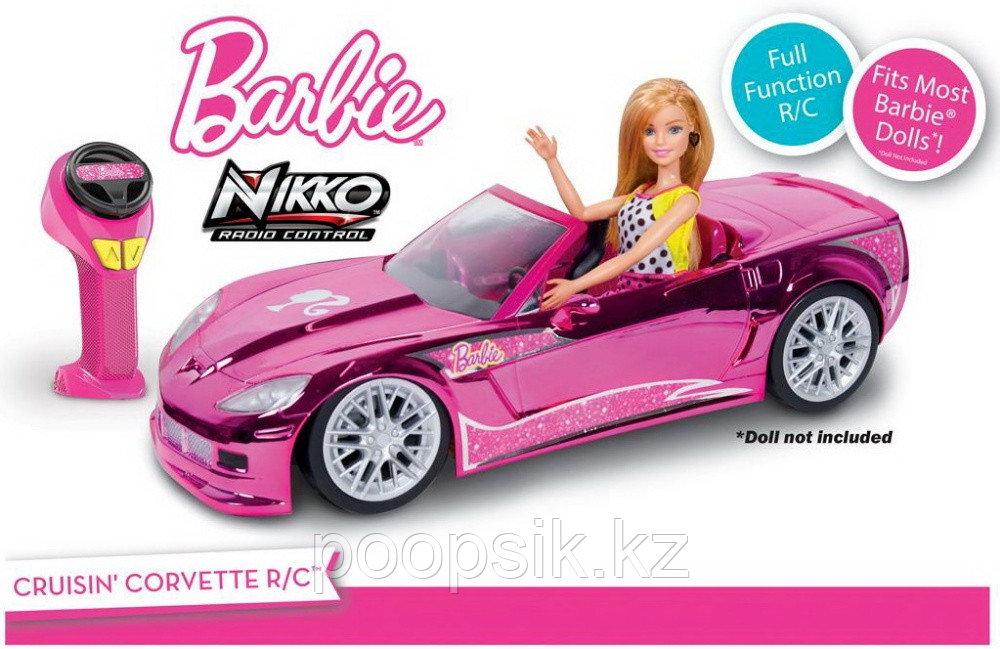 Машина Барби на радиоуправлении кабриолет Barbie 14300 - фото 1