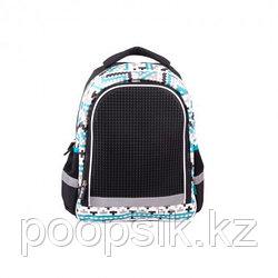 Рюкзак школьный с пикси-дотами (черный) MC-3191-2
