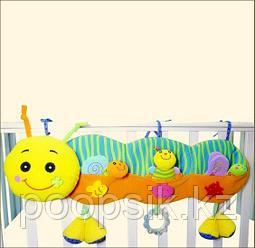 BIBA TOYS Развивающая игрушка подвесная на кроватку УЛИТКА 32*32,5*35 см
