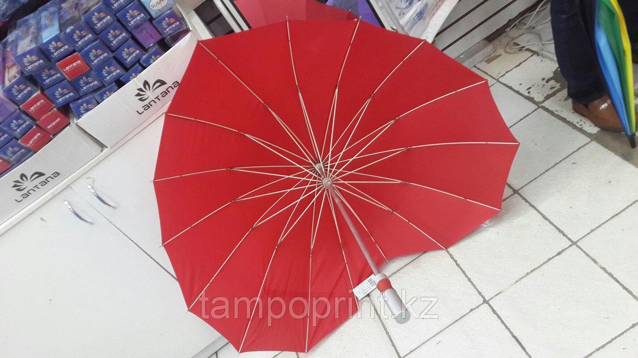 Зонты трость сердечко