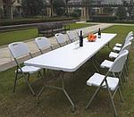 Стол складной пластиковый 180 см, фото 2