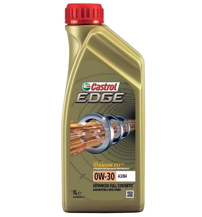 Моторное масло Castrol EDGE 0W-30  1L.