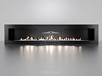 Биокамин Window 1500 black, фото 1