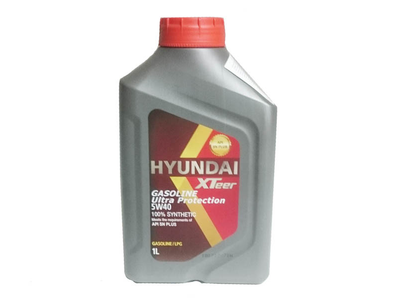 Моторное масло Hyundai XTeer Gasoline Ultra Protection 5W40 1L