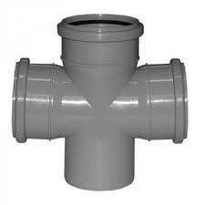 Крестовина для канализации 100х100х90