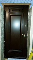 Двери железные одностворчатые с МДФ