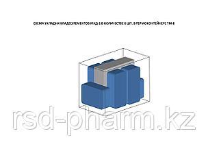 Термоконтейнер ТМ-8 в гофрокоробке, фото 3