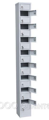 Шкаф металлический для мобильных телефонов 17 ячеек (200х200х1850) арт. СОТЕЛ 17