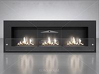 Биокамин Fire Line Glass black, фото 1
