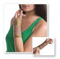 Бандаж на лучезапястный сустав с фиксацией пальца MedTexile № 8552