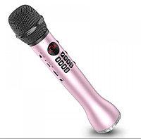 Портативный караоке микрофон со встроенным динамиком L-598