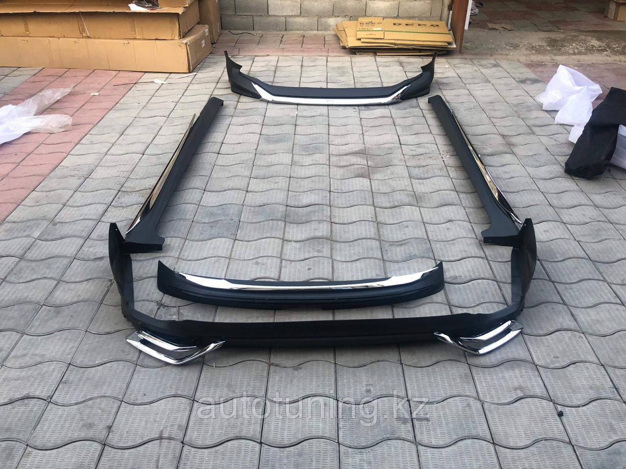 Аэродинамический обвес Modellista на Toyota Camry 70 2018+.