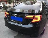 Фонарь комплект дымчатый америка на Toyota Camry 50 USA 2011-2014 SMOKE