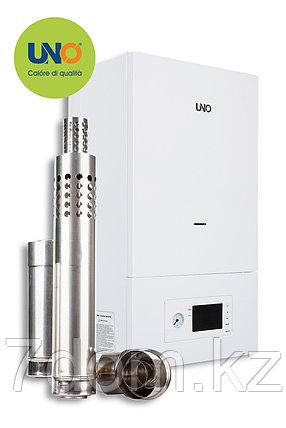 Котел газовый настенный UNO PIRO 40 кВт с коаксиальным дымоходом, фото 2