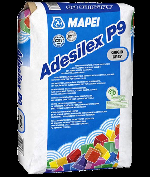 Цементный клей Adesilex P9 серый