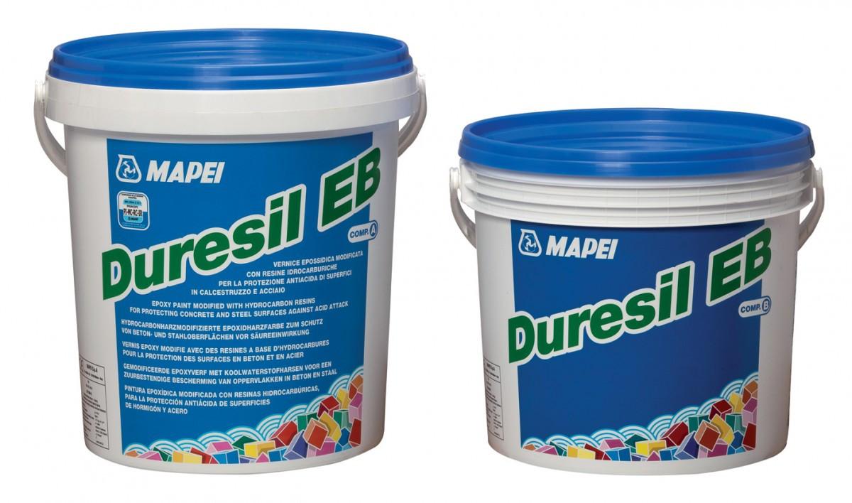 Эпоксидная краска чёрного цвета DURESIL EB