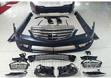 Комплект обвеса на  Mercedes Benz w221 s65 AMG.2005-2013