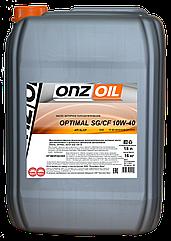 Моторное масло ONZOIL 10W40 SG/CF 18.0