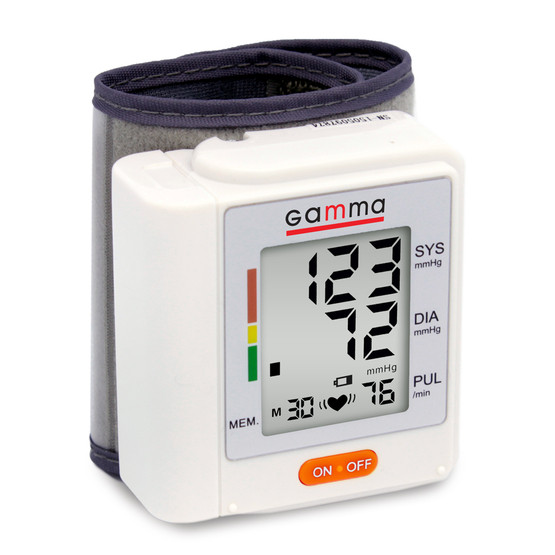 Автоматический тонометр на запястье GAMMA Active - фото 1