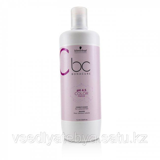 Серебристый мицеллярный шампунь Schwarzkopf BC Bonacure pH 4.5 Color Freeze Silver Micellar Shampoo 1000 мл