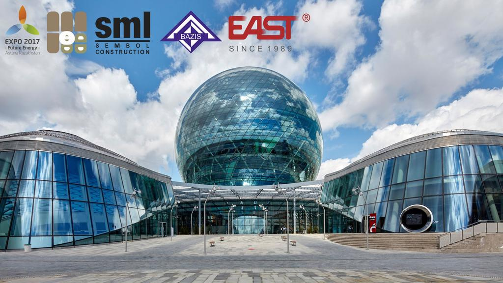 """Источники бесперебойного питания EAST на службе выставки """"Astana Expo 2017""""."""