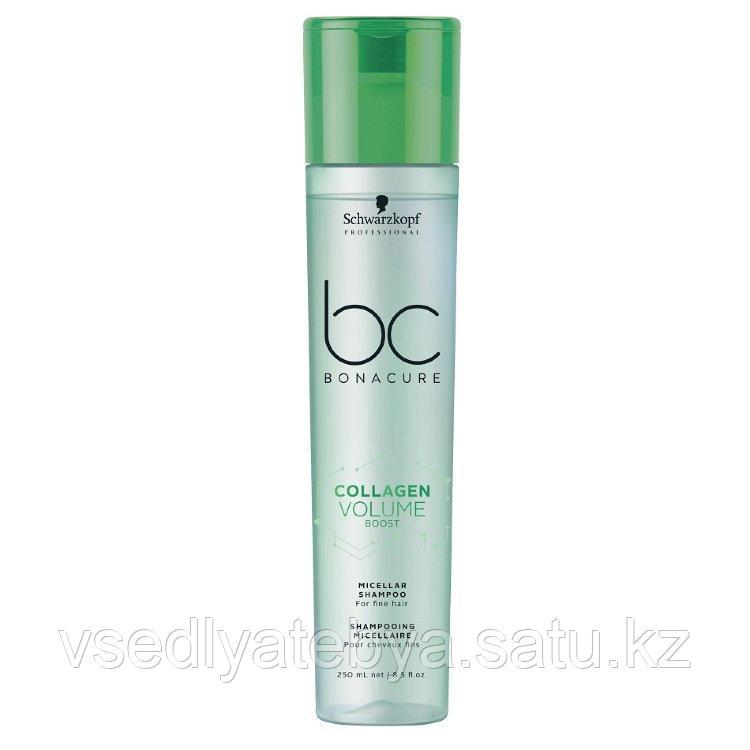 Коллагеновый шампунь Schwarzkopf BC Collagen Volume Boost Micellar Shampoo 250 мл